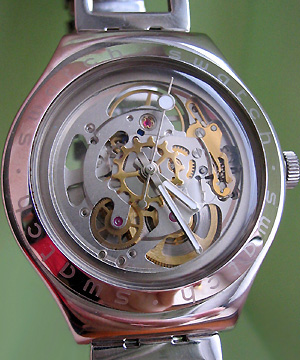 Swatch Irony Automatic Skelet